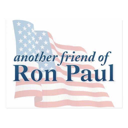 Cosas de Ron Paul Tarjetas Postales
