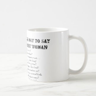 Cosas del top 10 a no decir a una mujer embarazada tazas de café
