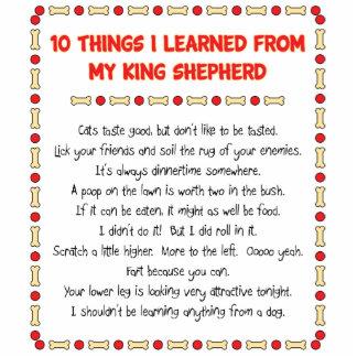 Cosas divertidas I aprendido de mi rey Shepherd Esculturas Fotograficas