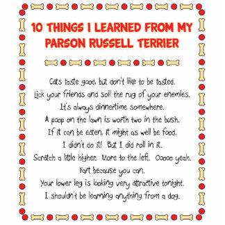 Cosas divertidas I aprendido del párroco Russell T Escultura Fotografica