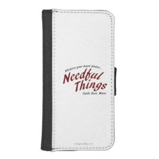 Cosas necesarias fundas tipo billetera para iPhone 5
