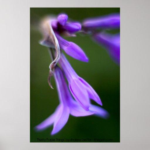 """""""Cosas púrpuras bonitas de Andrew Gettler Impresiones"""