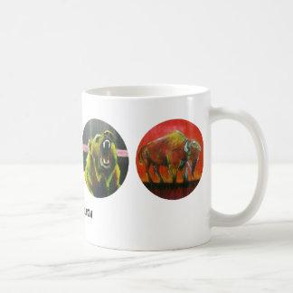 Cosas salvajes taza de café