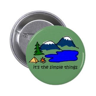 Cosas simples - acampando pins