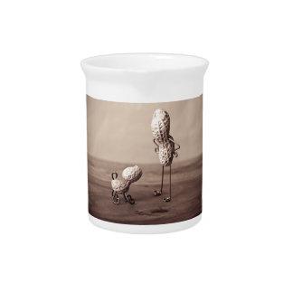 Cosas simples - hombre y perro jarras para bebida