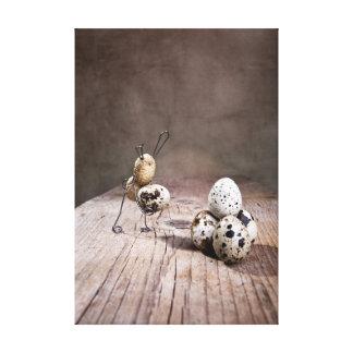Cosas simples - Pascua Lienzo Envuelto Para Galerias