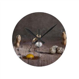 Cosas simples - Pascua Reloj Redondo Mediano