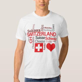 Cosas suizas preferidas - amor Suiza de I Polera