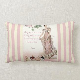 Cosas tontas - cita de Jane Austen Cojines