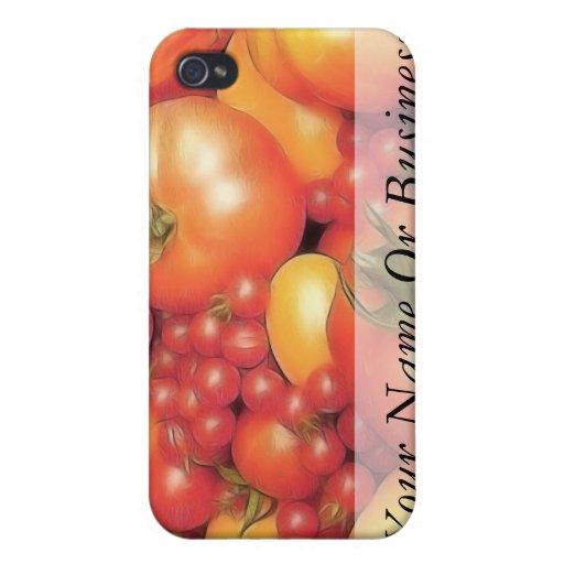 Cosecha abundante - tomates de la herencia iPhone 4/4S carcasa