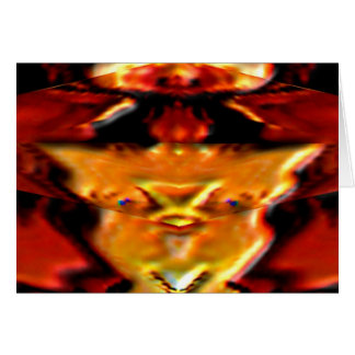 Cosecha afortunada del oro - atrae riqueza de la tarjeta de felicitación
