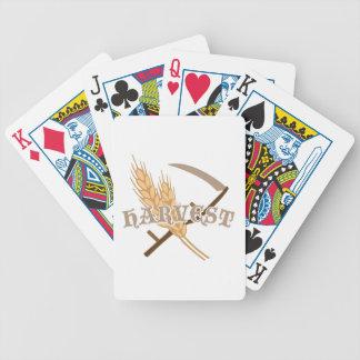 Cosecha de grano baraja de cartas