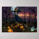 Cosecha de Halloweens - poster del espantapájaros