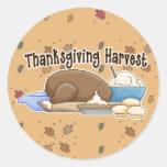 cosecha de la acción de gracias etiquetas