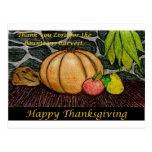 Cosecha de la acción de gracias tarjetas postales