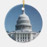 Cosecha de la bóveda del capitolio del jpg ornamento de navidad