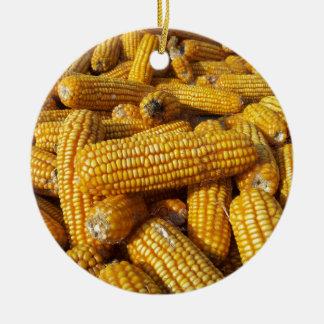 Cosecha de maíz ornamento para arbol de navidad
