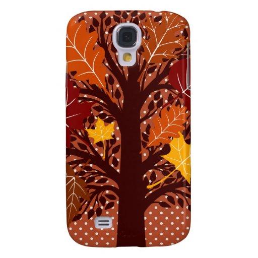 Cosecha de noviembre del árbol de las hojas de oto