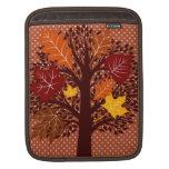 Cosecha de noviembre del árbol de las hojas de oto manga de iPad