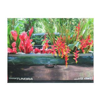 Cosecha de Tropicals hawaiano Lienzo Envuelto Para Galerías