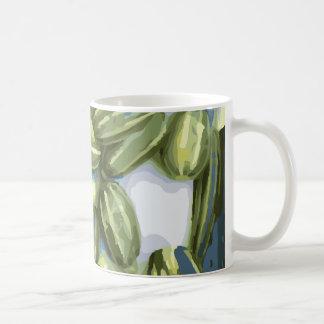 Cosecha del calabacín y de la calabaza de invierno taza clásica