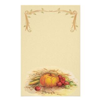 Cosecha del otoño papeleria