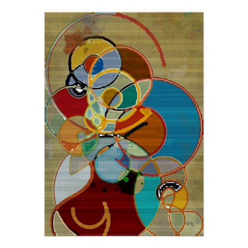 Cosecha del otoño - poster abstracto