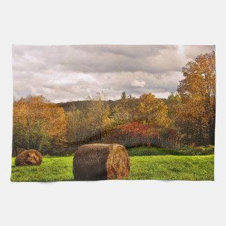Cosecha del otoño toallas