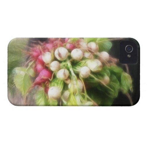 Cosecha del rábano y del nabo carcasa para iPhone 4