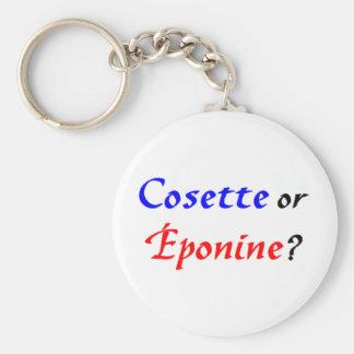 Cosette Les Miserables Keychain