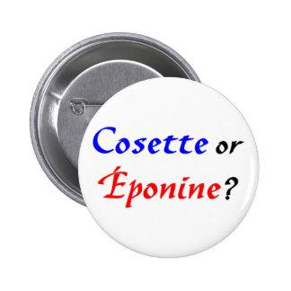 Cosette Les Miserables Pinback Button