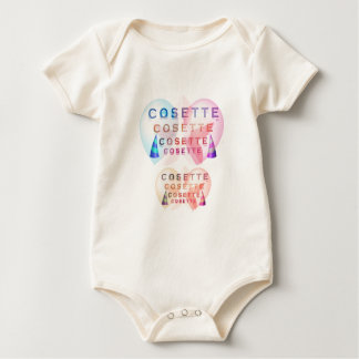 COSETTE , the little one Baby Bodysuit