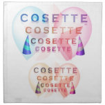 COSETTE , the little one Napkins