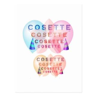 COSETTE , the little one Postcard