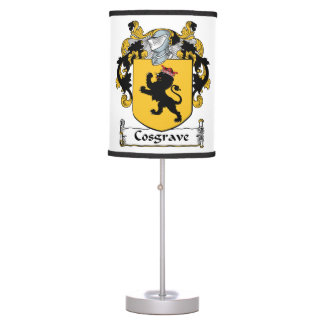 Cosgrave Family Crest Table Lamps
