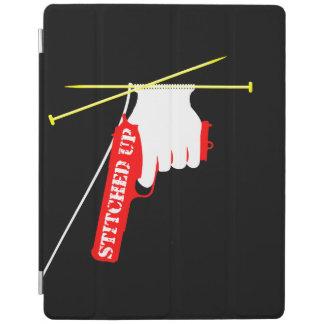 Cosido encima de la pistola que hace punto cover de iPad