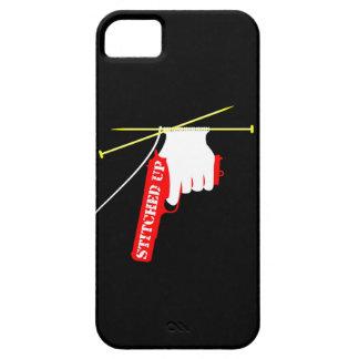 Cosido encima de la pistola que hace punto funda para iPhone SE/5/5s