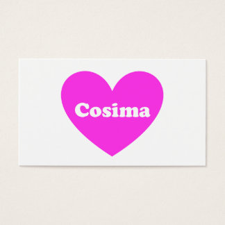 Cosima Business Card