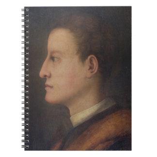 Cosimo de' Medici I (1519-74) as a young man, c.15 Notebook