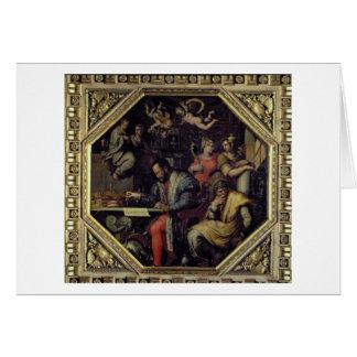 Cosimo I de' Medici (1519-74) planning the conques Card