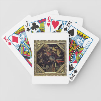 Cosimo I de' Medici (1519-74) planning the conques Bicycle Playing Cards