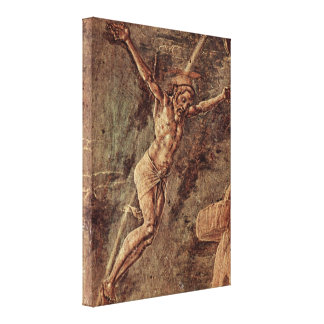 Cosimo Tura - Christ crucified Gallery Wrapped Canvas