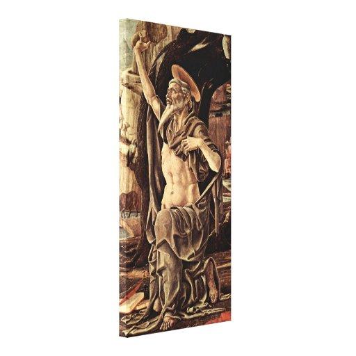 Cosimo Tura - St Jerome Canvas Print