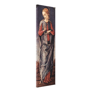 Cosimo Tura - Virgin of the Annunciation Canvas Print