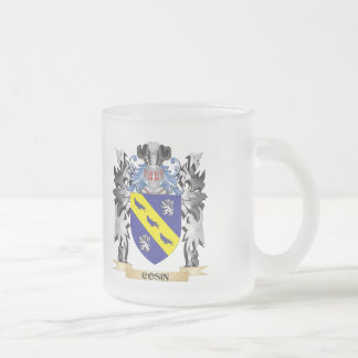 Cosin Coat of Arms - Family Crest 10 Oz Frosted Glass Coffee Mug