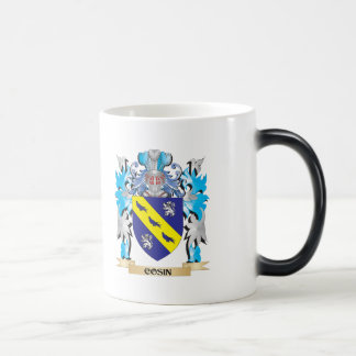 Cosin Coat of Arms - Family Crest 11 Oz Magic Heat Color-Changing Coffee Mug