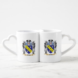Cosin Coat of Arms - Family Crest Couples' Coffee Mug Set