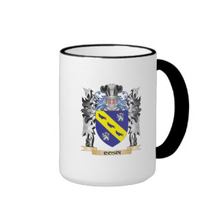 Cosin Coat of Arms - Family Crest Ringer Coffee Mug