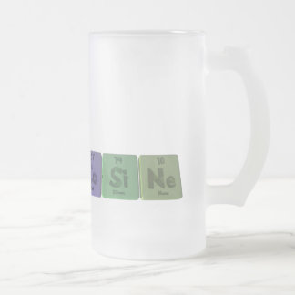 Cosine-Co-Si-Ne-Cobalt-Silicon-Neon.png 16 Oz Frosted Glass Beer Mug