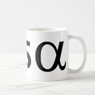 cosinus alpha coffee mug